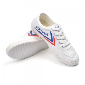 Feiyue Classic Low Fashion Causal Shoes - Red/Blue/White
