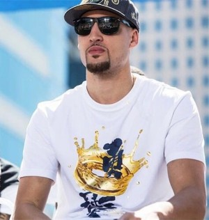 2018 Klay Thompson NBA Championship Parade Limited T-shirt