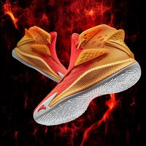 "Anta KT5 Klay Thompson ""ON FIRE"" Basketball Shoes - Red/Orange"