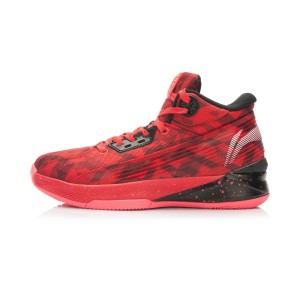 Li-Ning Wade All In Team 2 - Tomato Red/Black Basketball Shoes