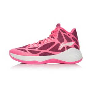 Li-Ning BB Lite Sonic 4 TD Basketball Shoes - Pink/Purple/White