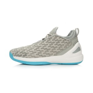 "Li-Ning ""Speed"" Mens 2016 Summer Basketball  Culture Shoes - Snow Grey/Microcrystal Grey"