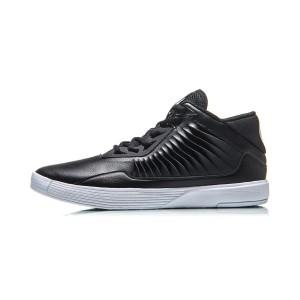 2018 Summer Lining Wade Men's High Top Basketball Culture Shoes - Black