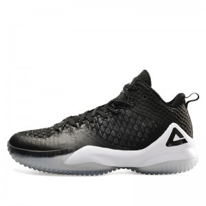 Peak Louis Williams 2017 NBA Basketball Shoes - Black/White