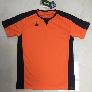 Peak 2018 Basketball Referee Tops T-shirt - Orange/Black