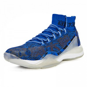 361 Degree 2019 Jimmer Fredette Men's Lonely Master Basketball Sneakers - Blue/Black