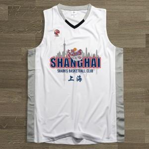 CBA Shanghai Sharks Team Customized Jersey