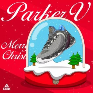"Peak Tony Parker V Professional Basketball Shoes - ""Christmas"""