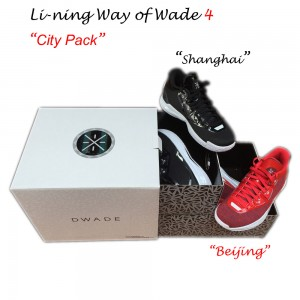 "Li-Ning WoW4 Way of Wade 4 ""City Pack"""