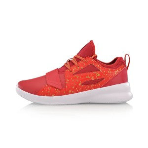 Li-Ning 2017 Way of Wade 937 Basketball Culture Shoes - Red/White