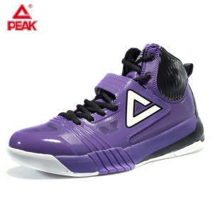Peak Hurricane II Carl Landry Professional Basketball Shoes - Purple