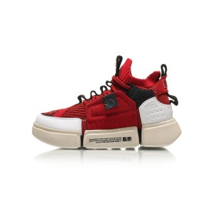 China Li-Ning 2018 NYFW Wade Essence II Kids ACE Shoes - Red