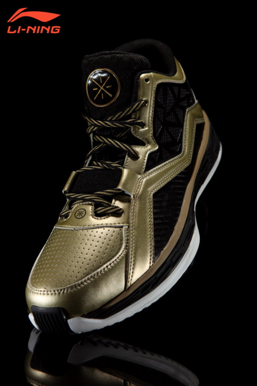 "Li Ning WoW4 Wade Fission 2.5 Tuff ""Black Gold"""