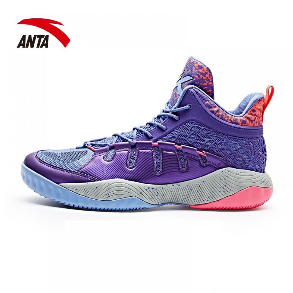 4d7b28055c75 Anta KT2 Klay Thompson Outdoor II Team basketball shoes - Purple