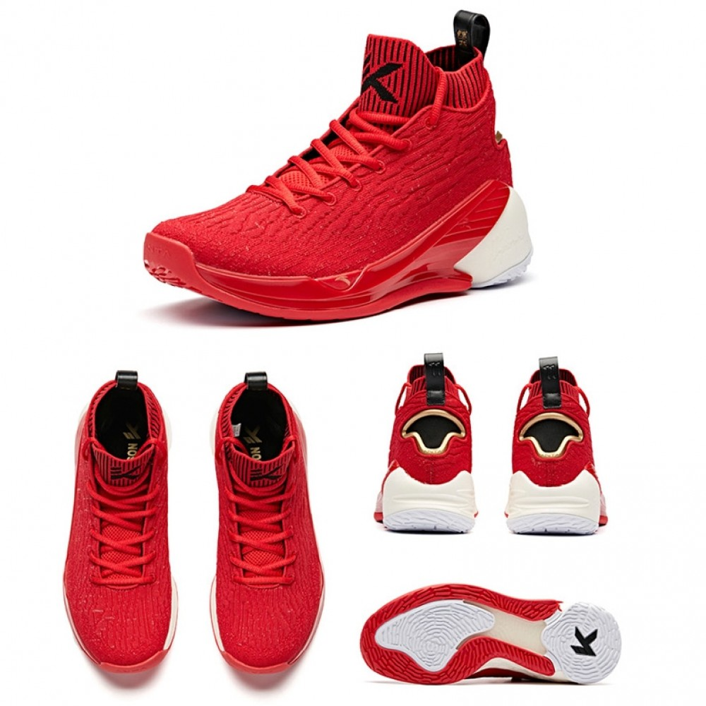 0a81c8adeb0e Anta 2019 Klay Thompson KT4 Men s Basketball Shoes - College Red  11911101 -2