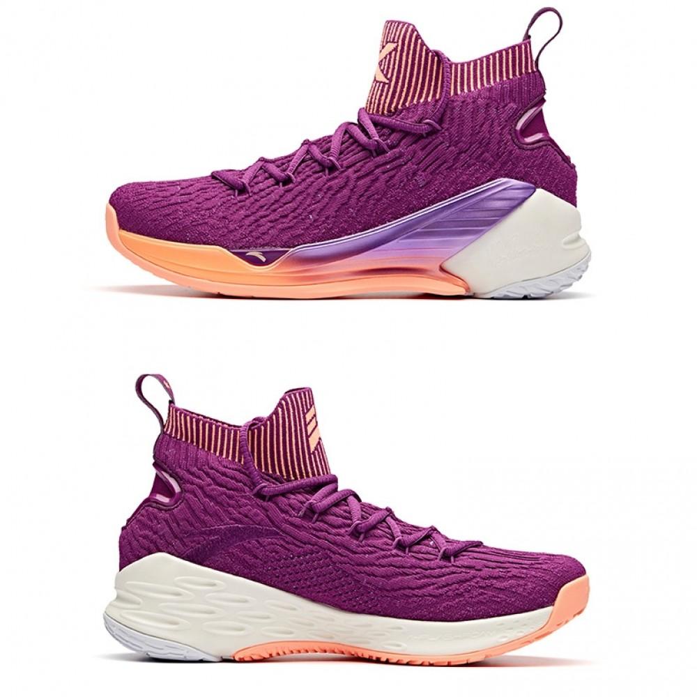 1f0f408d32c9 Anta 2019 Klay Thompson KT4 Men s Basketball Shoes - Purple  11911101-3
