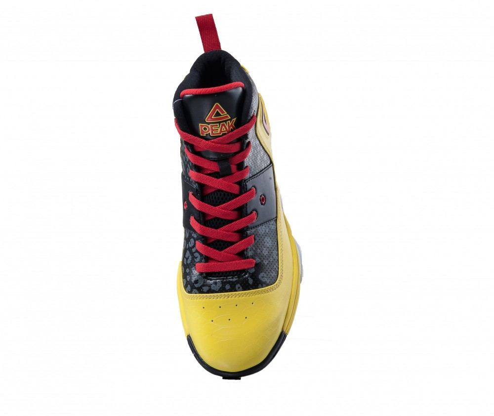 Peak GH3 George Hill Basketball Shoes - Yellow/Black