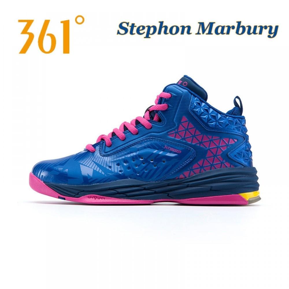 Stephon Marbury Professional Basketball Shoes - Blue Pink 6d31309af