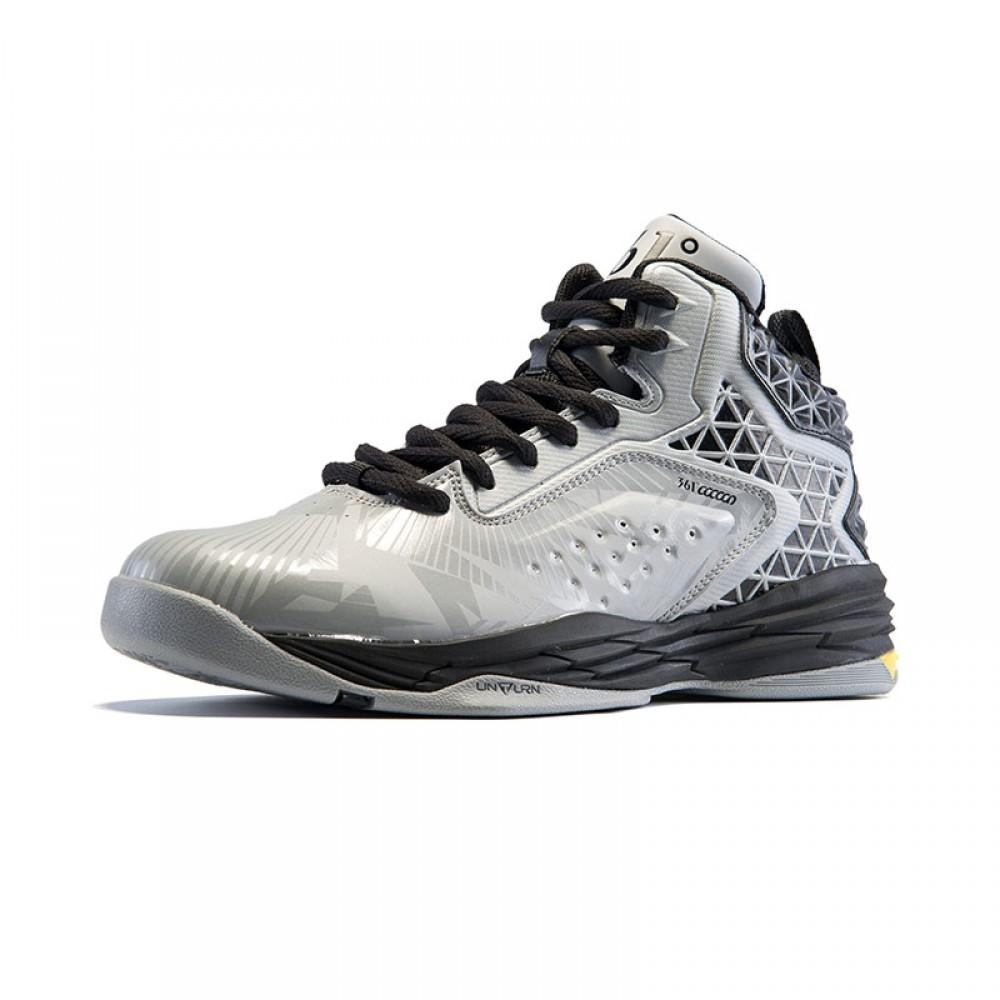 Stephon Marbury Professional Basketball Shoes - Grey Black 76612f96d