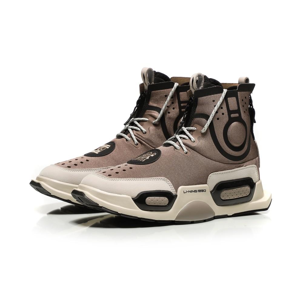 f74f63400 Li-Ning Essence II 2 NYFW Basketball Culture Sneakers -  REBURN  - Brown  AGBN052-2