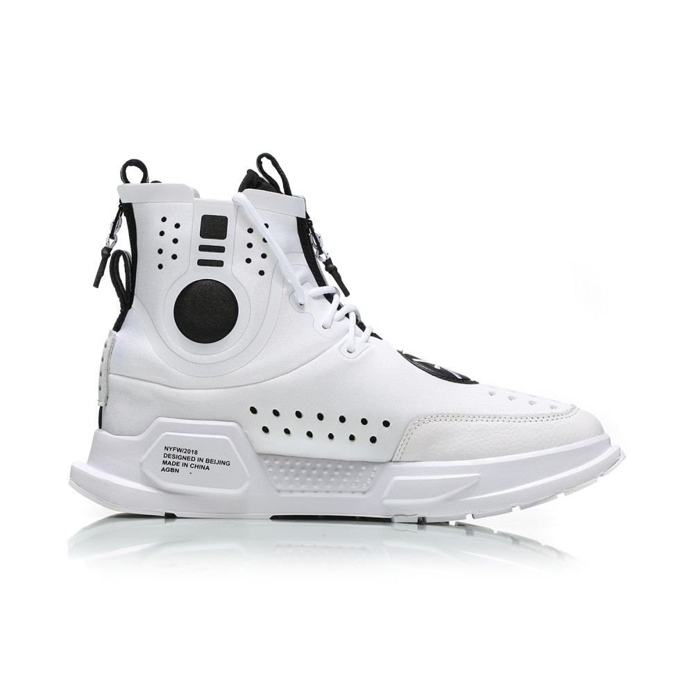 481a858e6 Li-Ning Essence ACE II 2 NYFW  REBURN  Basketball Casual Sneakers - White