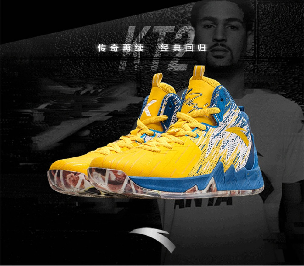 "The Blazing Star Warriors: ANTA KT2 Klay Thompson ""BLAZING 3"" Limited Shoes"
