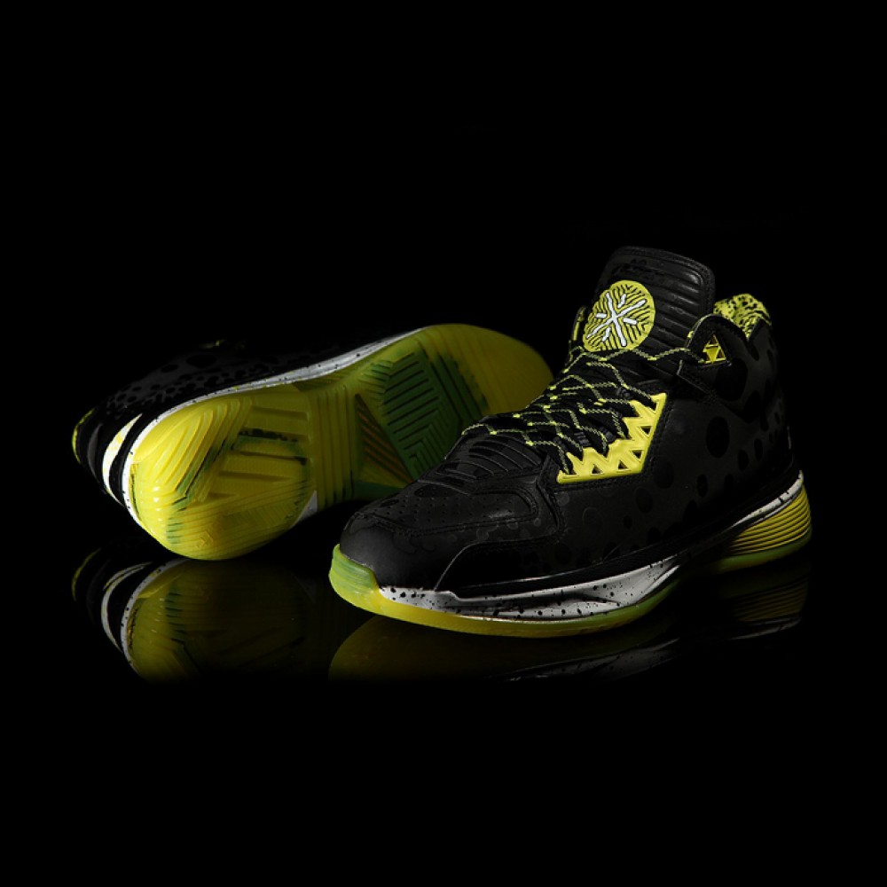 Li-Ning Way of Wade 2 2014 NBA Black All Star 3M Sting Ray