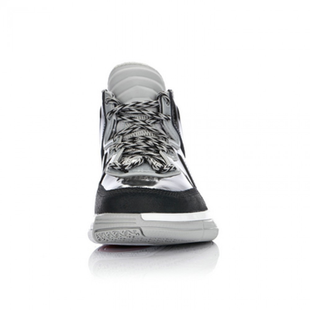 Li Ning WoW Way of Wade Warrior Basketball Sneakers - Black/ Cement Grey