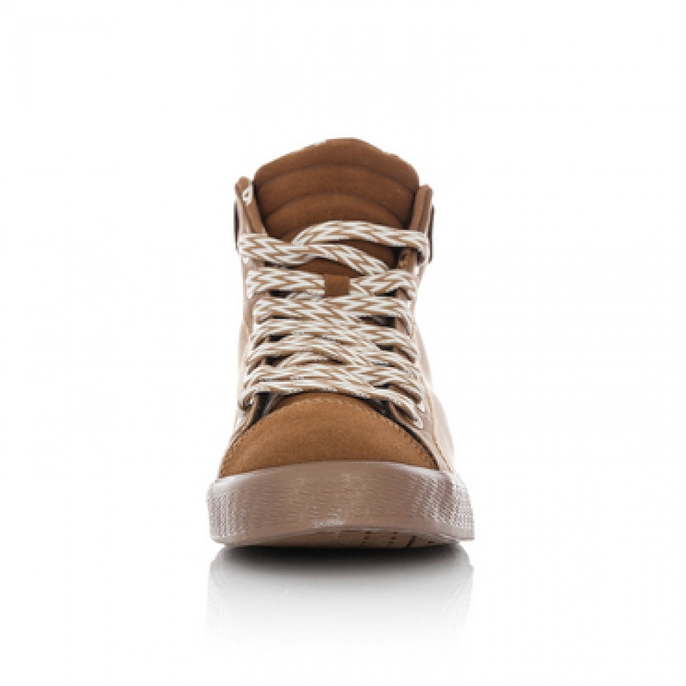 Li Ning WoW Wade Legend 84 Lifestylel Basketball Sneakers - Copper Brown /White