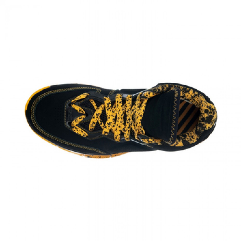 Li Ning WoW Way of Wade Caution Basketball Sneakers - Black/Yellow