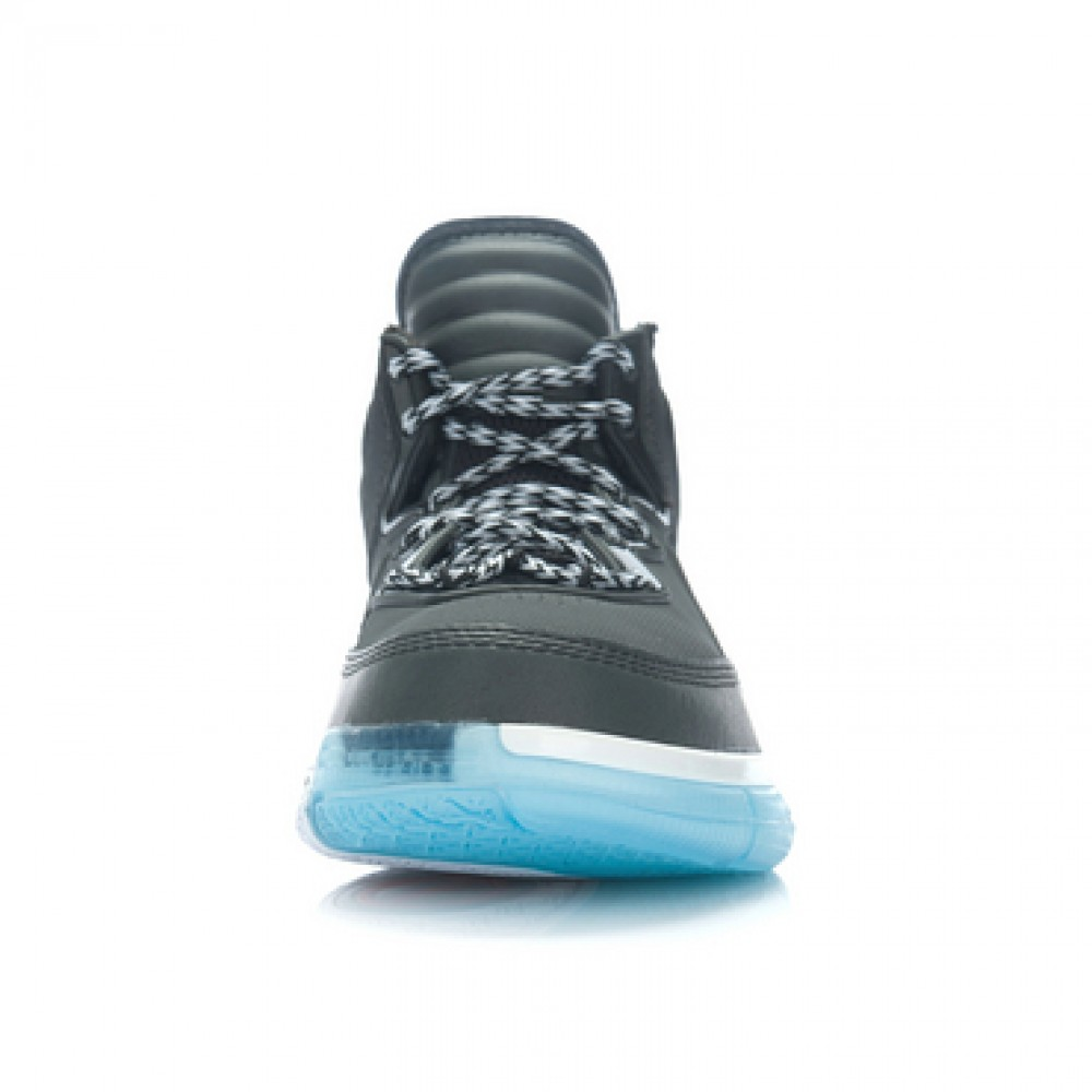 Li Ning WoW Way of Wade TNS Team No Sleep Basketball Sneakers - Black/White
