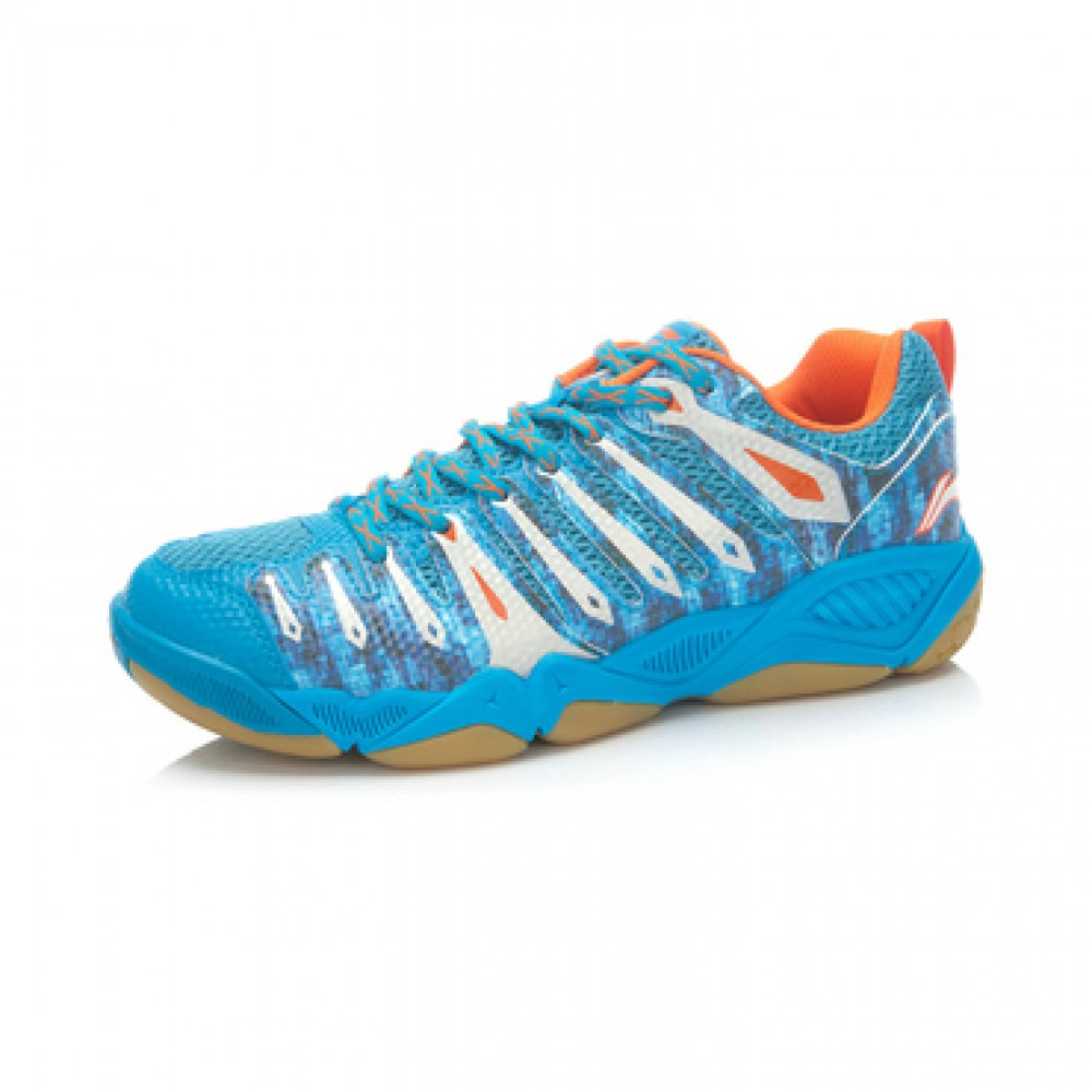Li-Ning Mens Lin Dan Hero-II TD Badminton Shoes Camo Edition