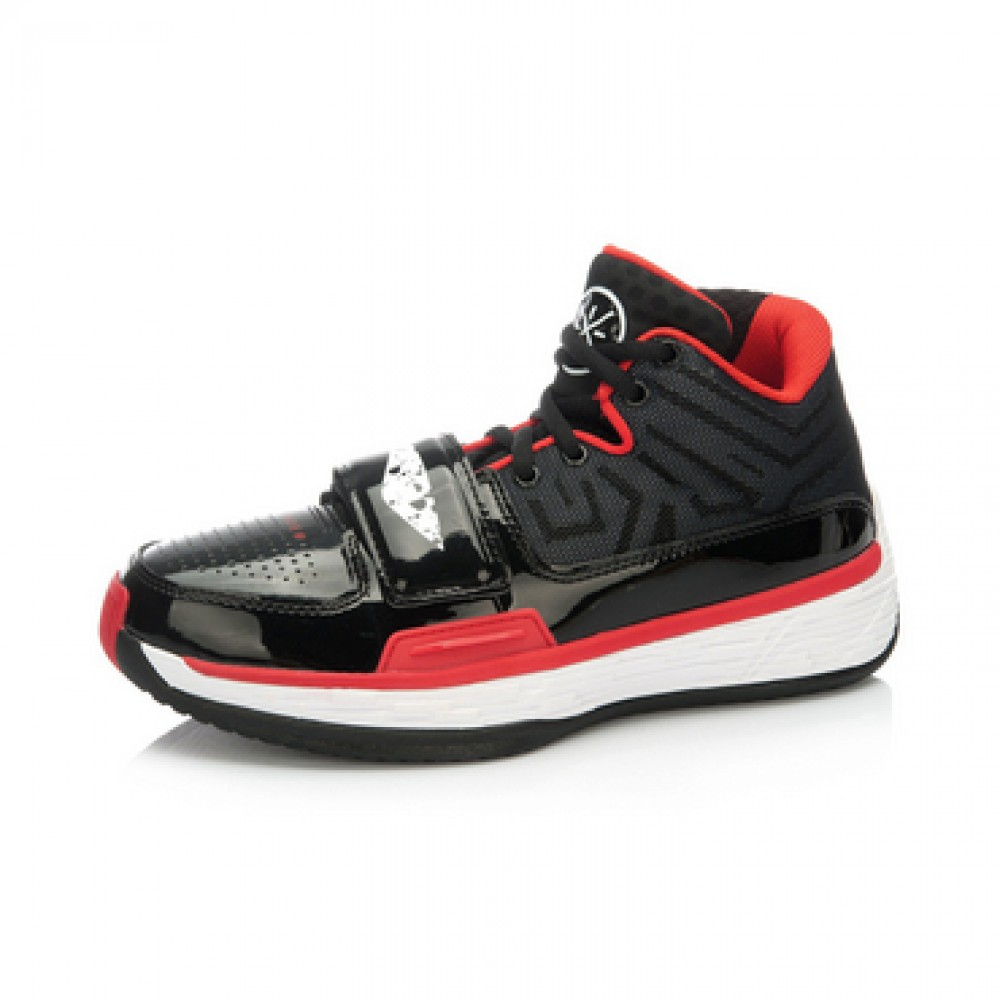 "Li-Ning WoW 4 Wade Fission 2.5 ""Announcement""-Black/Red"