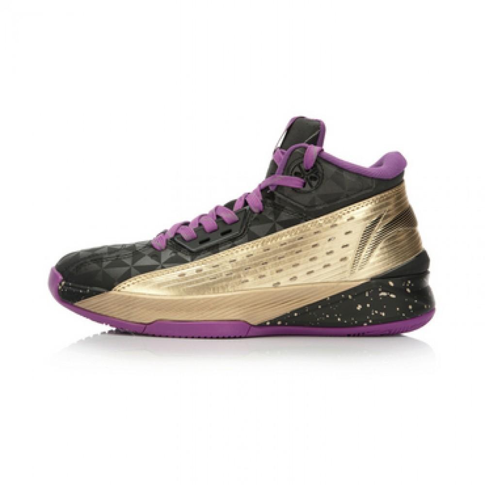 Li Ning WoW 3.0 All In Team 2 - Black/Purple/Gold