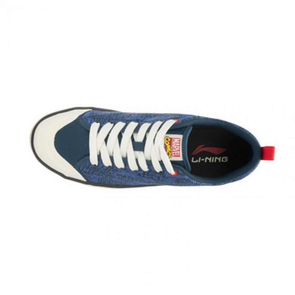 Captain America x Li-Ning Mens Canvas Skateboarding Shoes