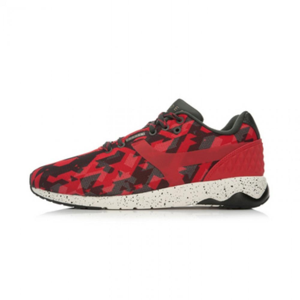 Li-Ning WoW 4 Wade 92 Lifestyle Shoes - Red/Black/White