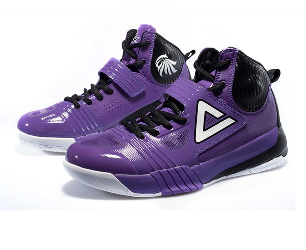 Peak Hurricane II Carl Landry Professional Basketball Shoes - Purple