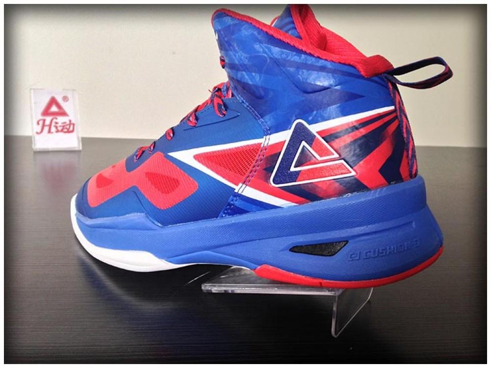 2014 FIBA Basketball World Cup Peak Soaring II Basketball Shoes - Blue Speed Eagle