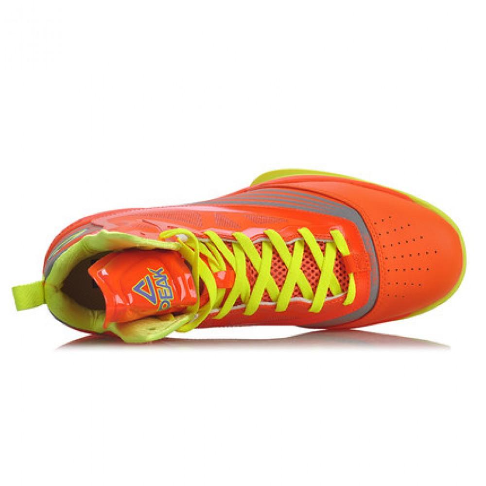 Peak Soaring II-VI 3M Reflective Professional Basketball Shoes - Orange/Yellow