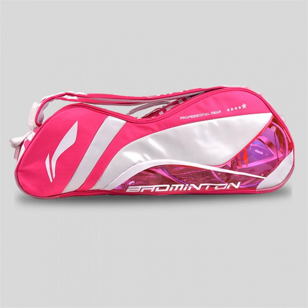 Li-Ning Li Xuerui Womens Racket Bag   Single Shoulder 6 Racquet Bag