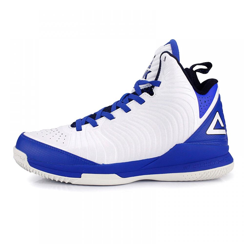 Peak Battier 9 IX Shane Battier Signature Basketball Shoes - White/Blue