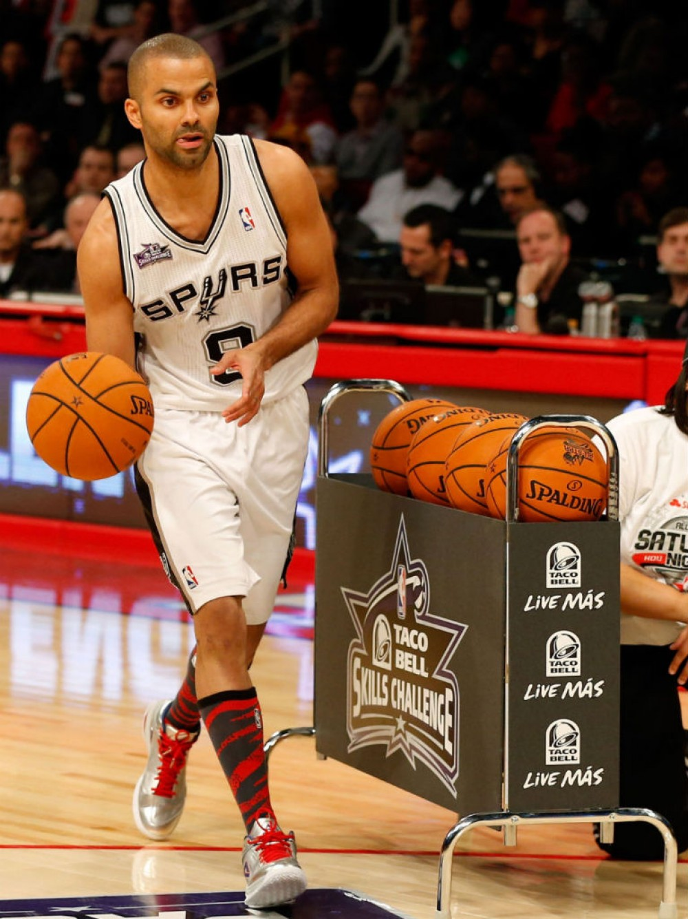 "PEAK TP9 Tony Parker 2013 NBA All-Star Weekend ""Taco Bell Skills Challenge"" Signature Basketball Shoes"