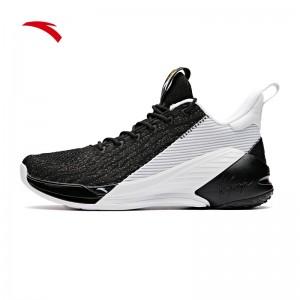Anta 2019 Klay Thompson KT4 Low Men's Basketball Shoes - Black/White