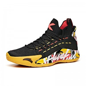 "Anta KT5 Klay Thompson ""Have Fun In LA"" Low Basketball Sneakers - Black/Yellow"