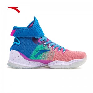 Anta 2020 KT Klay Thompson New KT3 Color Basketball Sneakers - Blue/Pink