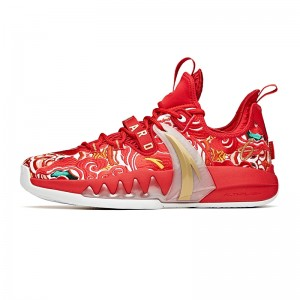 "Anta GH2 ""Chinese New Year"" Gordon Hayward Low Basketball Sneakers"