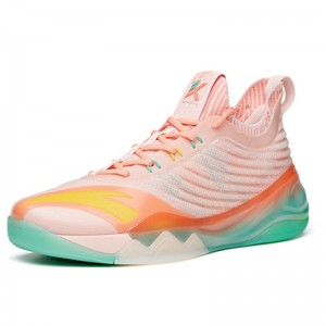 "Anta 2021 KT6 Klay Thompson ""Flamingo"" Low Basketball Sneakers"