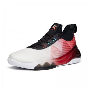 Anta KT6 Klay Thompson 2021 New Colorway Low Basketball Sneakers - White/Black/Red