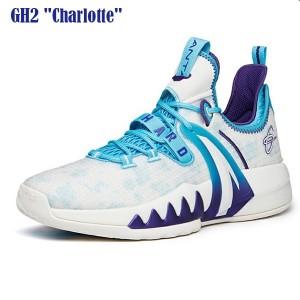 "Anta GH2 ""Charlotte"" Gordon Hayward 2021 Summer Low Basketball Sneakers - White/Blue"