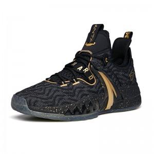 "Anta GH2 Gordon Hayward 2021 ""EVERY TIME"" Summer Low Basketball Sneakers - Black/Gold"